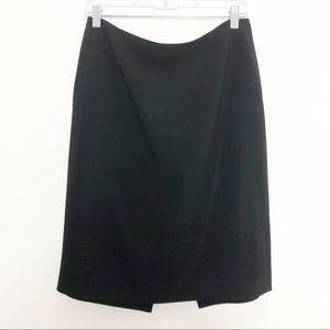 Ann Taylor Black Pencil Skirt Size 8